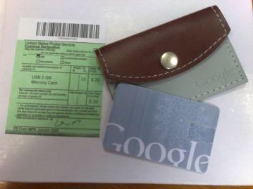 Google christmas gift 2007