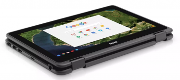 DELL Chromebook 11 3189 v tablet módu.