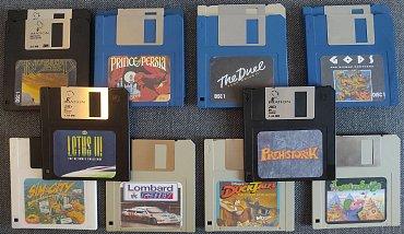 Finální podoba disket