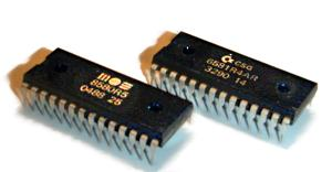 Zvukový čip SID proslavený v počítačích Commodore 64. Jeho typický zvuk pamětníci dokáží rozeznat snad kdykoli. (zdroj: Wikipedia.com)