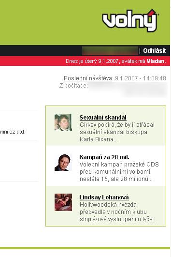 Volný.cz - WebMail - Microsoft Internet Explorer