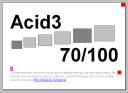 Acid3 test - Firefox 3.0