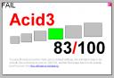 Acid3 test - Opera 9.5
