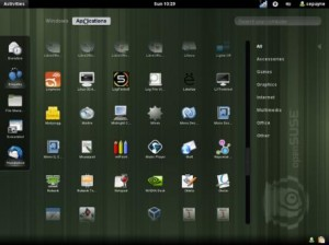 OpenSUSE GNOME 3
