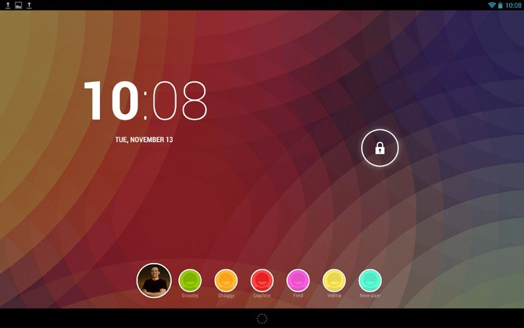 Android multiuser switch