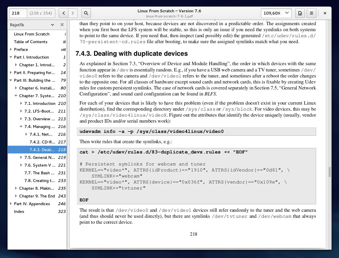 Fedora 21: aplikace