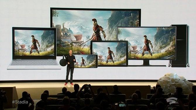 Stadia od Google umožní streamovat hry do prohlížeče (obrazem)