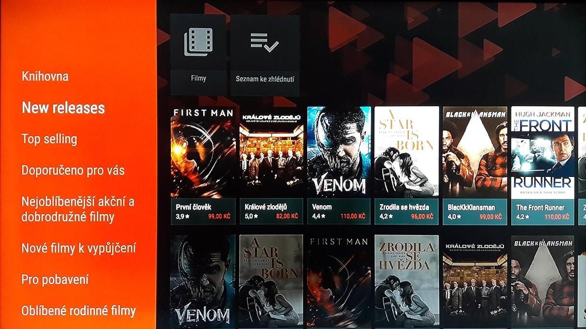 SledováníTV - Seznamy a přehledy