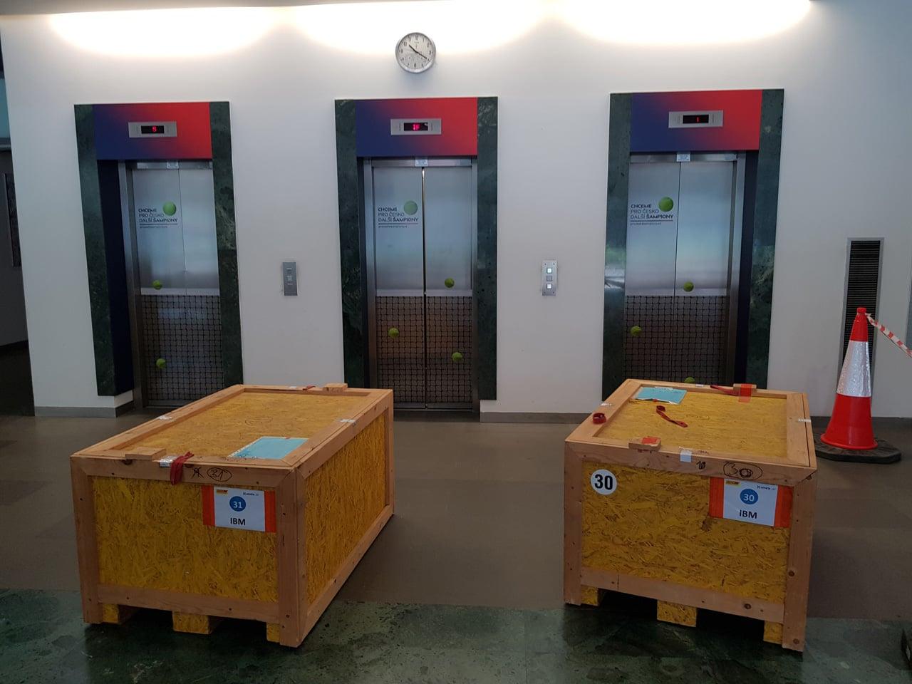 Stěhování datového centra Moneta Money Bank