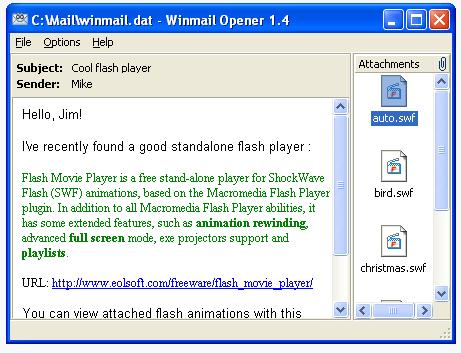 Winmail OPener