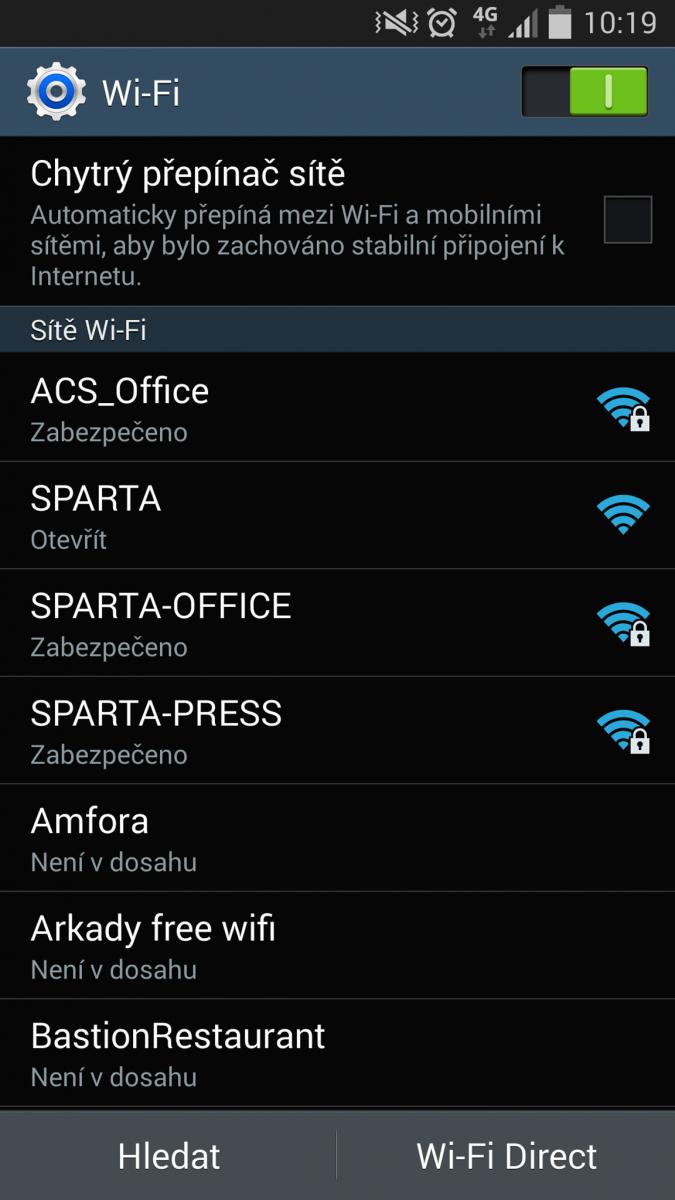 Fotbalová Sparta - připojený stadion