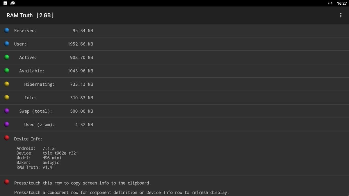 Geekbench, 3D Mark, další benchmarky, Root Check, DRM Info