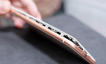 iPhone 8 po explozi akumulátoru