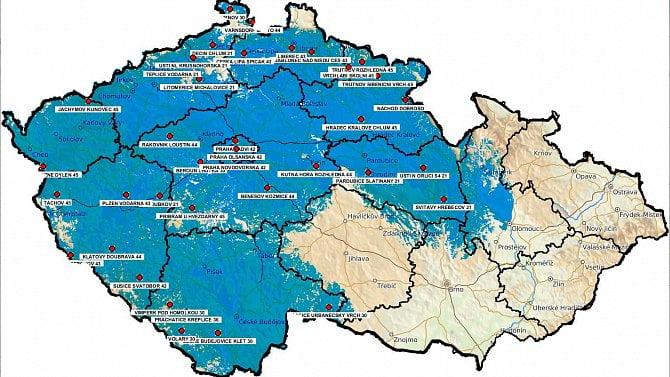 [aktualita] DVB-T2 Multiplex 24 začal vysílat z lokality Kamýk nad Vltavou