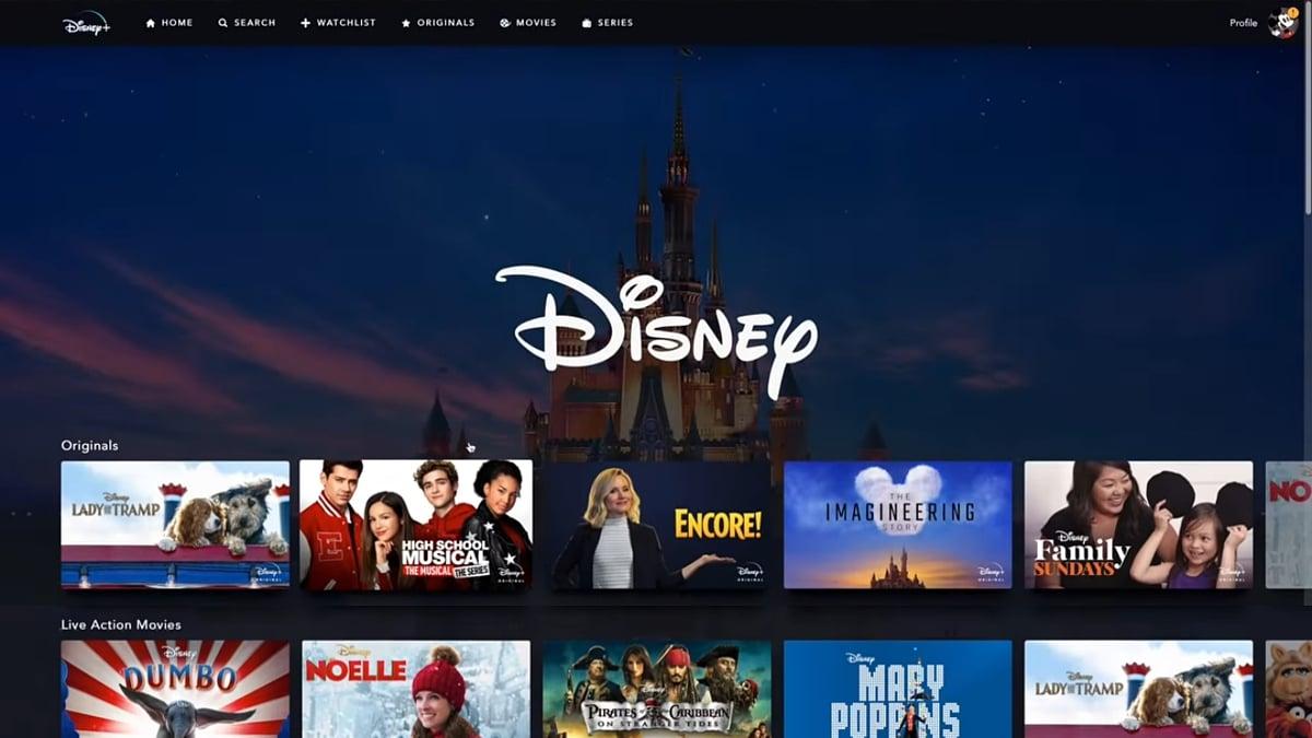 Produkce Walt Disney Studios v Disney+