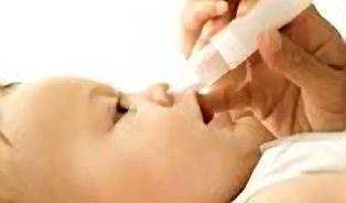 Panika, kojenec má rýmu