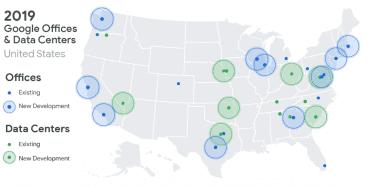 Jak se ve Spojených státech díky 13 miliardám dolarů rozroste Google v roce 2019