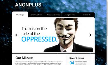 Domovská stránka Anonymous
