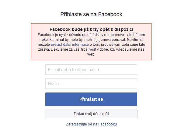 Facebook A Instagram Se Potýkaly S Problémy, Výpadek Byl
