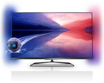 Základní předností je elegantní bezrámový design a kvalitní materiály, například hliník a ocel, což dělá z televizoru Philips 42PFL6008K designový skvost. Klasický rámeček najdete pouze ve spodní části, ovládání pak na pravém boku vzadu, kde je i elektronický vypínač.