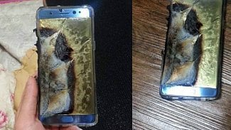 Samsung Galaxy Note 7 hoří