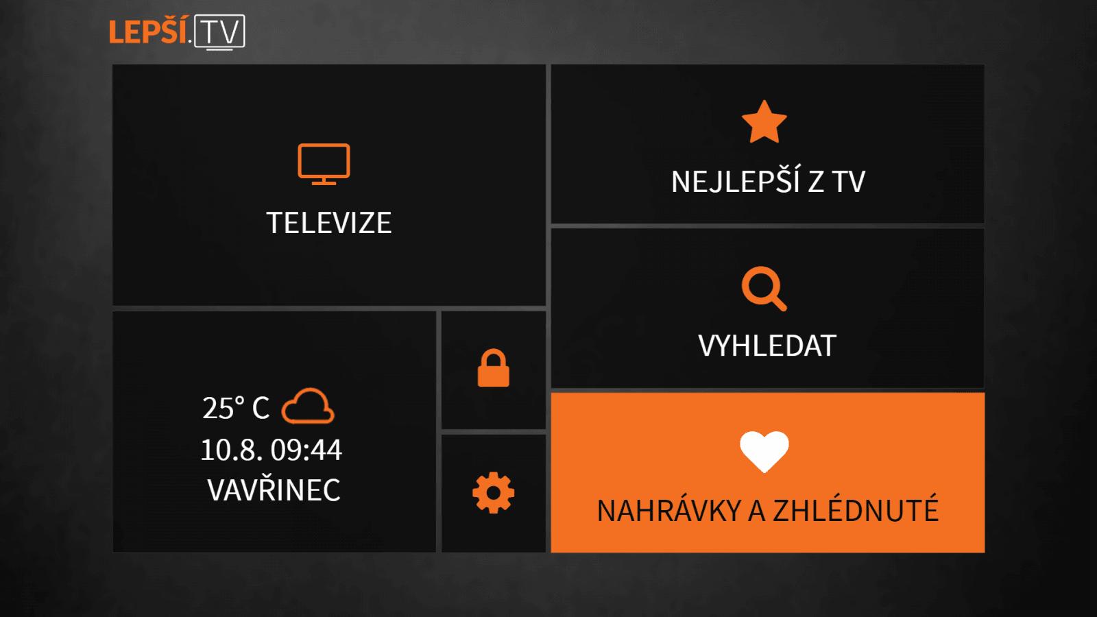 Zhlédnuté pořady na Lepší.TV