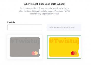 Nové platební karty Twisto Payments od procesora Marqeta.