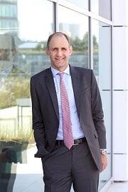 Andrew Gerber, nový předseda představenstva společností Wüstenrot – stavební spořitelny a Wüstenrot hypoteční banky (28.5.2020)