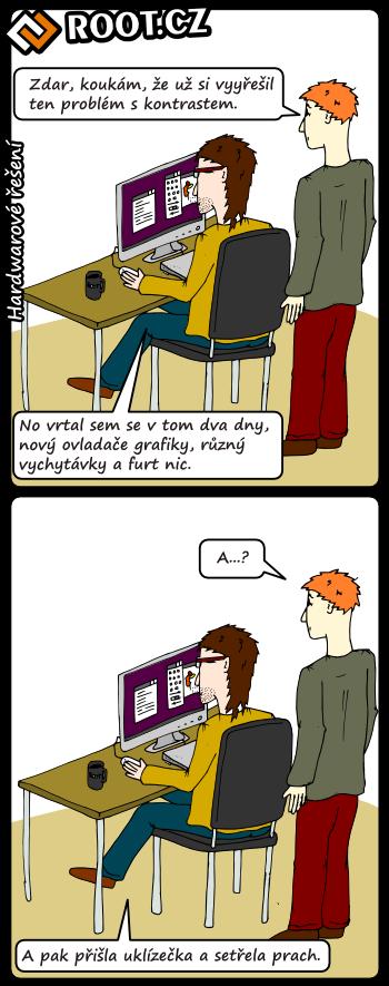 Komiks: hardwarové řešení