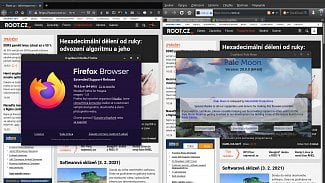 Pale Moon 29 a Firefox 78.6 ESR