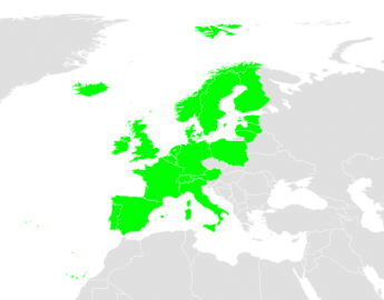 Dostupnost Spotify v Evropě