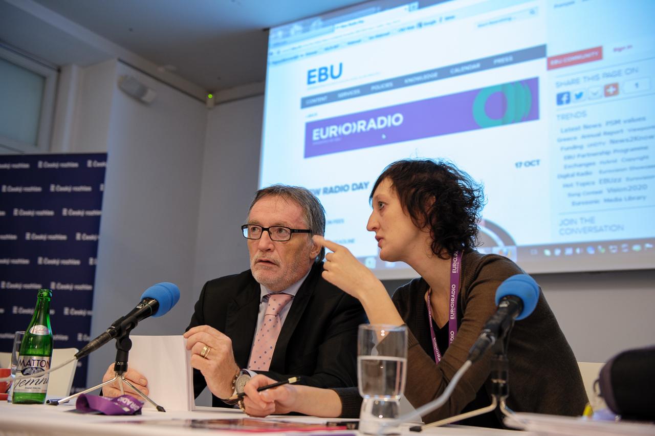 Z konference Českého rozhlasu a EBU o digitálním vysílání DAB