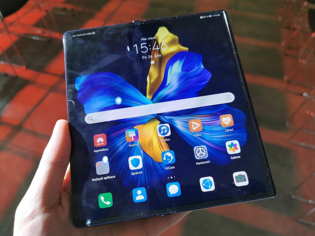 Ohebný chytrý telefon Huawei Mate Xs