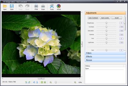 PC Image Editor vylepší vaše fotografie pomocí speciálních filtrů