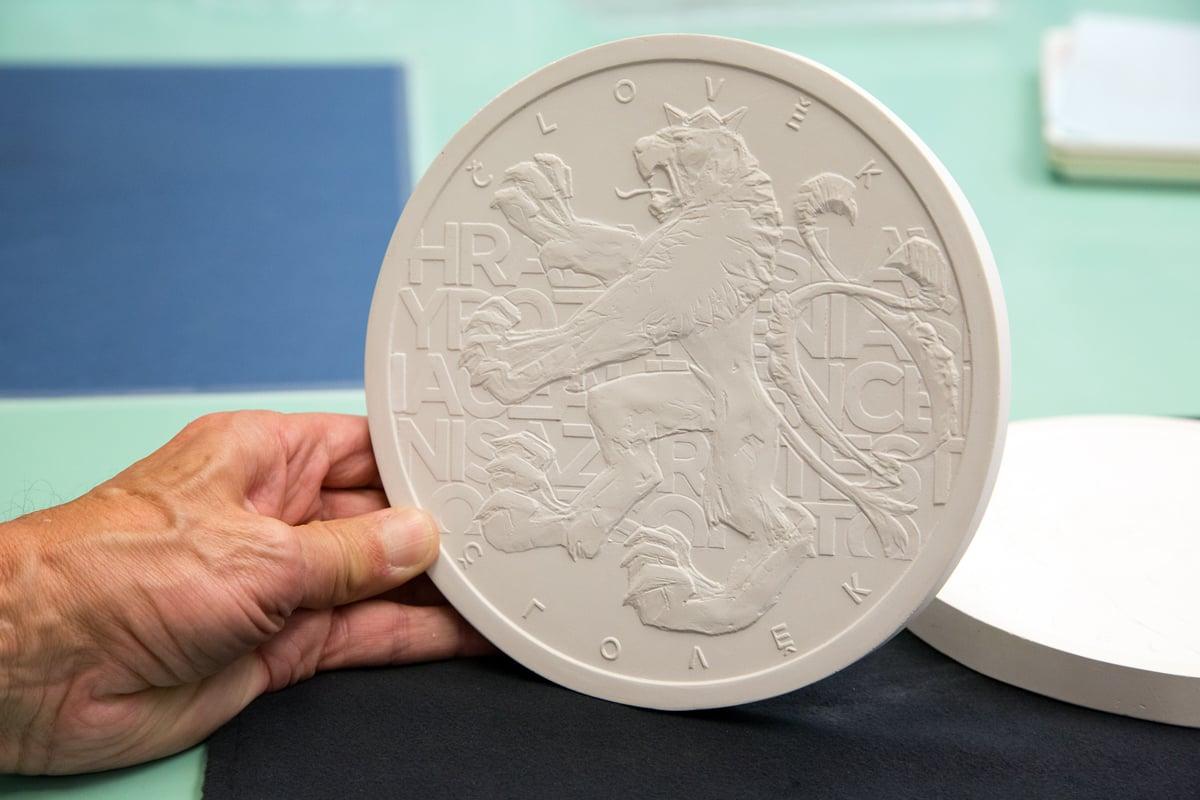 Česká mincovna - pamětní medaile Václav Havel