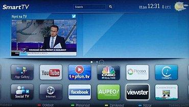 Obrazovka SmartTV (NetTV) loňského modelu Philips 46PFL8008S. Ty letošní totiž zatím na náš trh v podstatě nedorazily. Nicméně značka Philips nikdy moc českých aplikací ve svých chytrých televizorech neměla, a to i přesto, že byla jednou z prvních, která se Smart TV přišla.