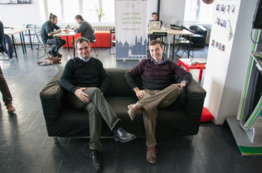 Pavel Konečný (vlevo) a Filip Sedlák z Neuron soundware.