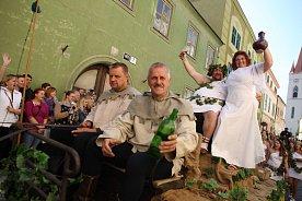 Znojemské historické vinobraní 2015