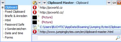 Clipboard Master rozšíří funkce schránky Windows
