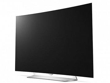 Elegantně provedený 4K OLED televizor LG 55EG920V prodávaný za 99.590 Kč.