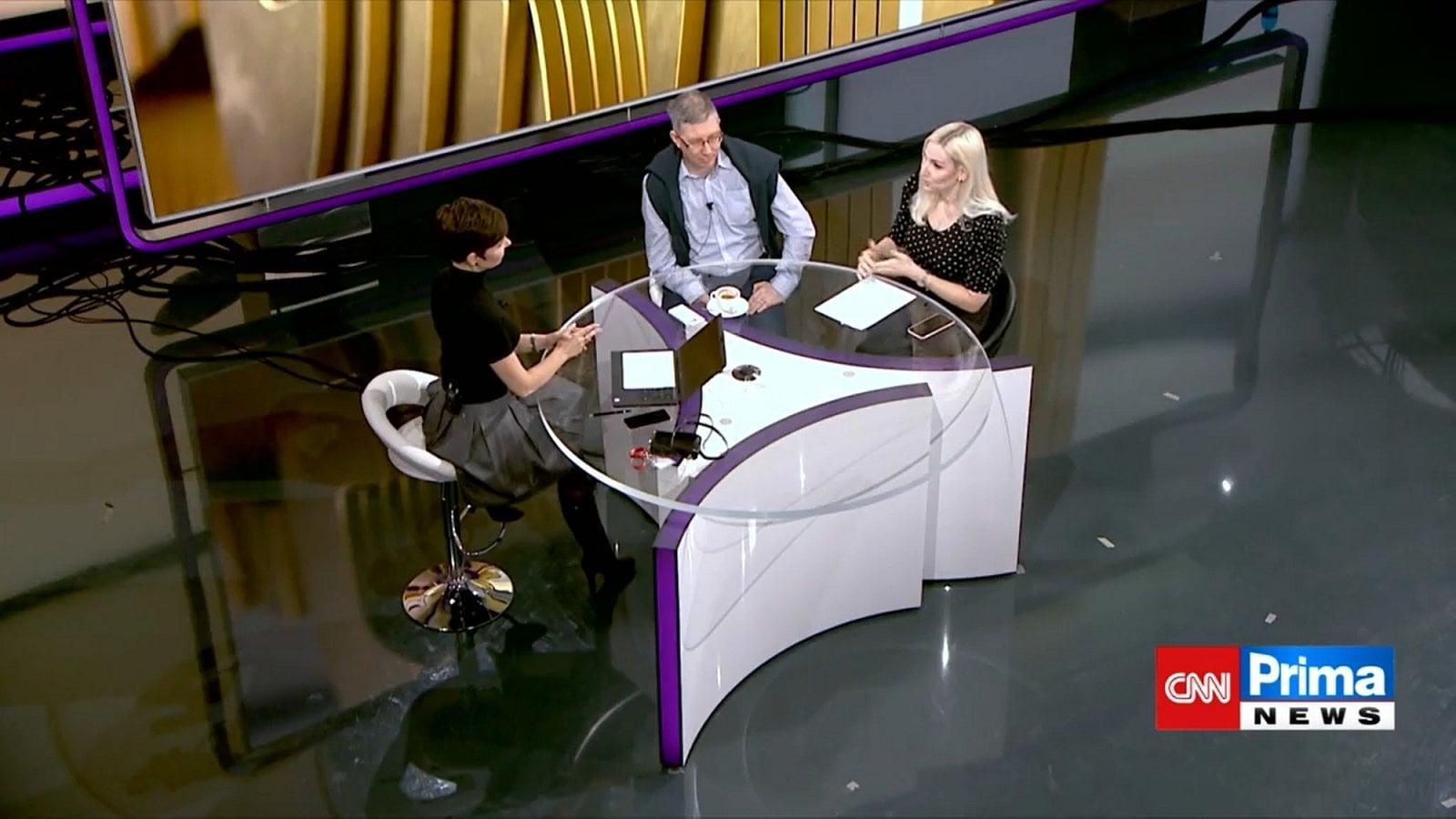 Markéta Fialová, CNN Prima News
