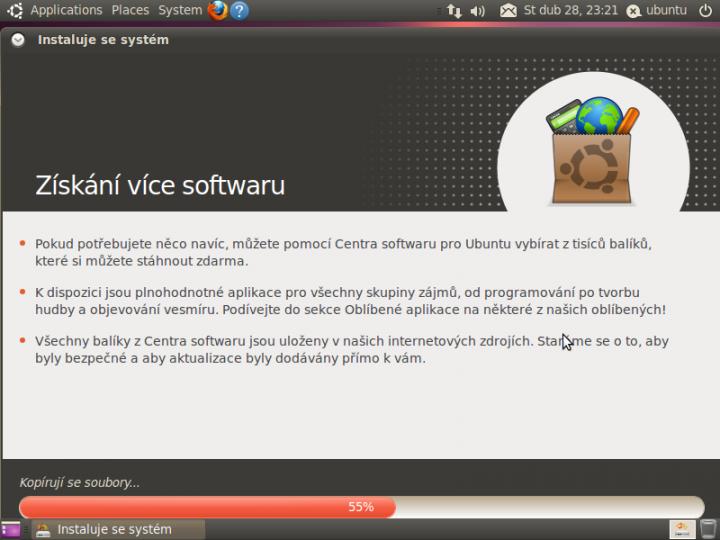Ubuntu 10.04 - instalace