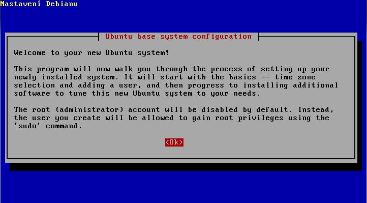 Ubuntu 4.10 - instalace