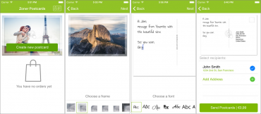 Zoner Postcards (Zoner Pohlednice) pro iOS