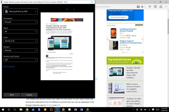 Chcete-li uložit na Disk Google obsah z jiného internetového prohlížeče, pak je ideálním řešením uložení do formátu PDF.