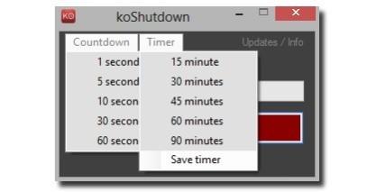 KwikOff výrazně zjednoduší proces vypnutí počítače nejen ve Windows 8