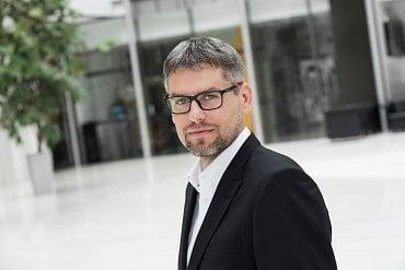 Nový obchodní ředitel Mastercard Pavel Vavřínek.