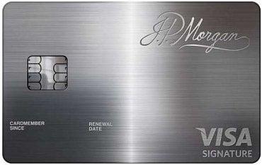 Kreditní karta J.P. Morgan Reserve Card v kombinaci zlata a palladia.