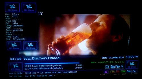 Discovery Channel Hungary vysílá opět ve formátu 4:3