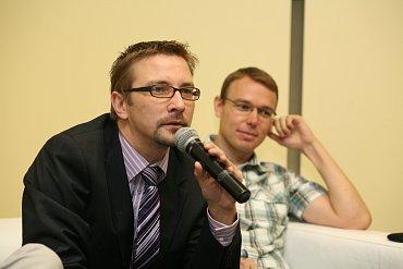 Marián Nič (Crazy Tomato) a Michal Šrajer (Inmite)